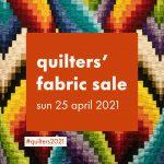 Quilters sale at Farnham Maltings
